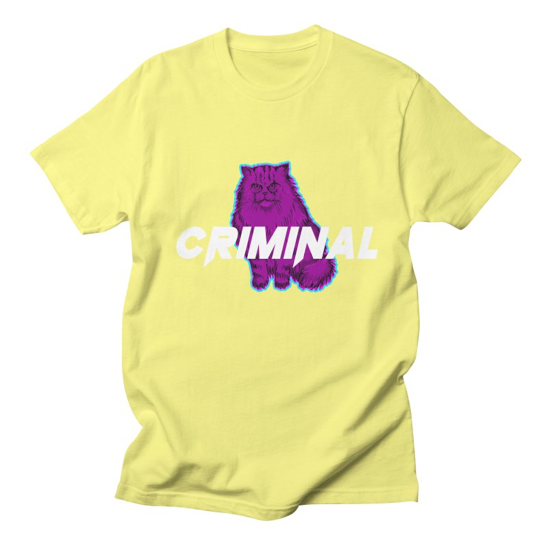 CRIMINAL (KITTY) Men's T-Shirt by VATTICA | OFFICIAL MERCH