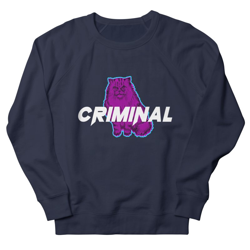 CRIMINAL (KITTY) Women's French Terry Sweatshirt by VATTICA | OFFICIAL MERCH