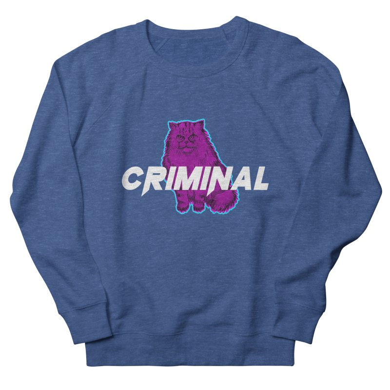CRIMINAL (KITTY) Men's Sweatshirt by VATTICA | OFFICIAL MERCH