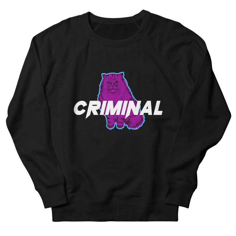 CRIMINAL (KITTY) Men's French Terry Sweatshirt by VATTICA | OFFICIAL MERCH