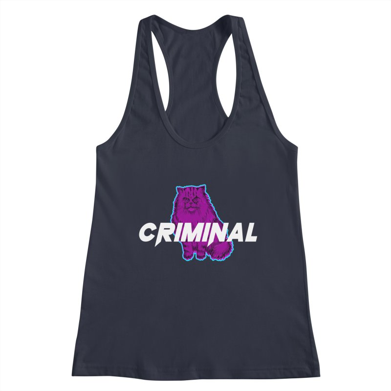 CRIMINAL (KITTY) Women's Tank by VATTICA | OFFICIAL MERCH