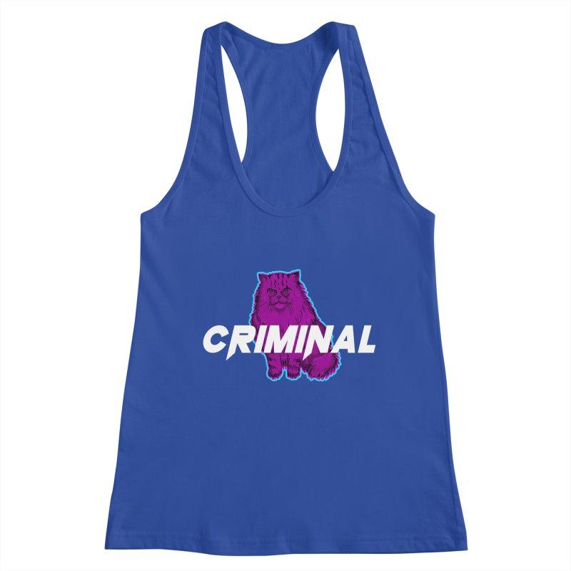 CRIMINAL (KITTY) Women's Tank by VATTICA | OFFICIAL MERCH