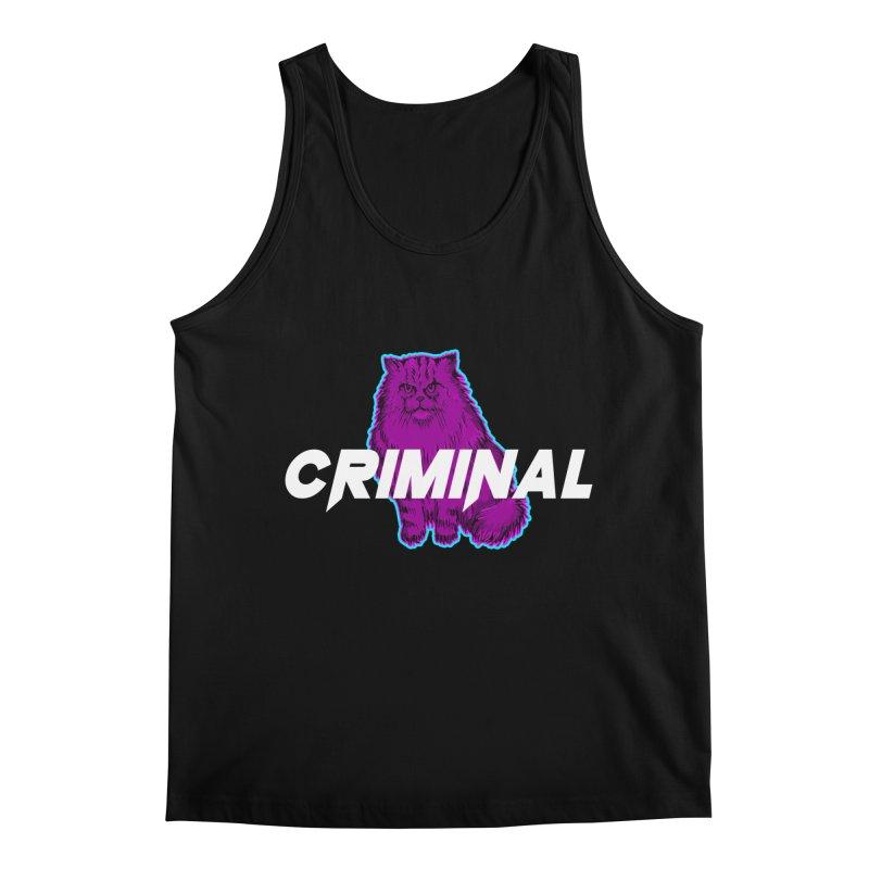 CRIMINAL (KITTY) Men's Regular Tank by VATTICA | OFFICIAL MERCH