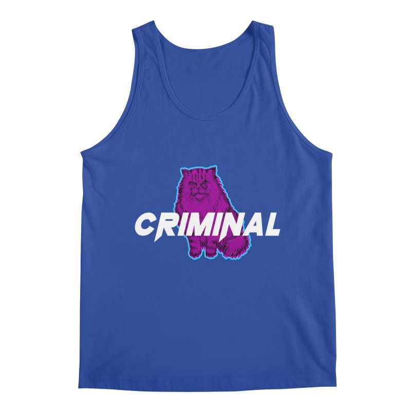 CRIMINAL (KITTY) Men's Tank by VATTICA | OFFICIAL MERCH