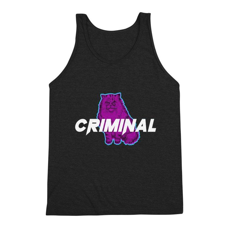 CRIMINAL (KITTY) Men's Tank by VATTICA | OFFICIAL MERCH