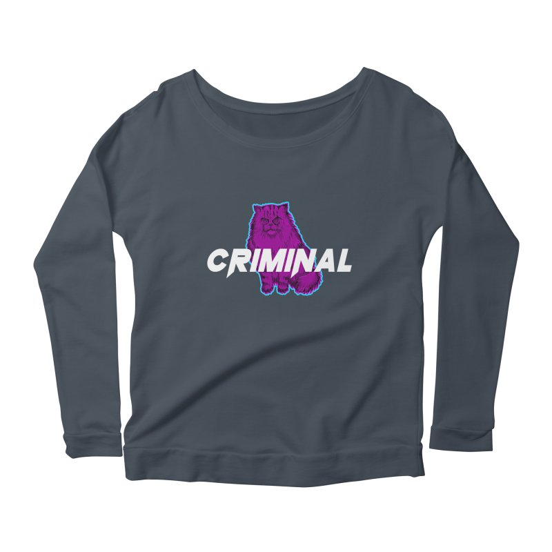 CRIMINAL (KITTY) Women's Longsleeve T-Shirt by VATTICA | OFFICIAL MERCH