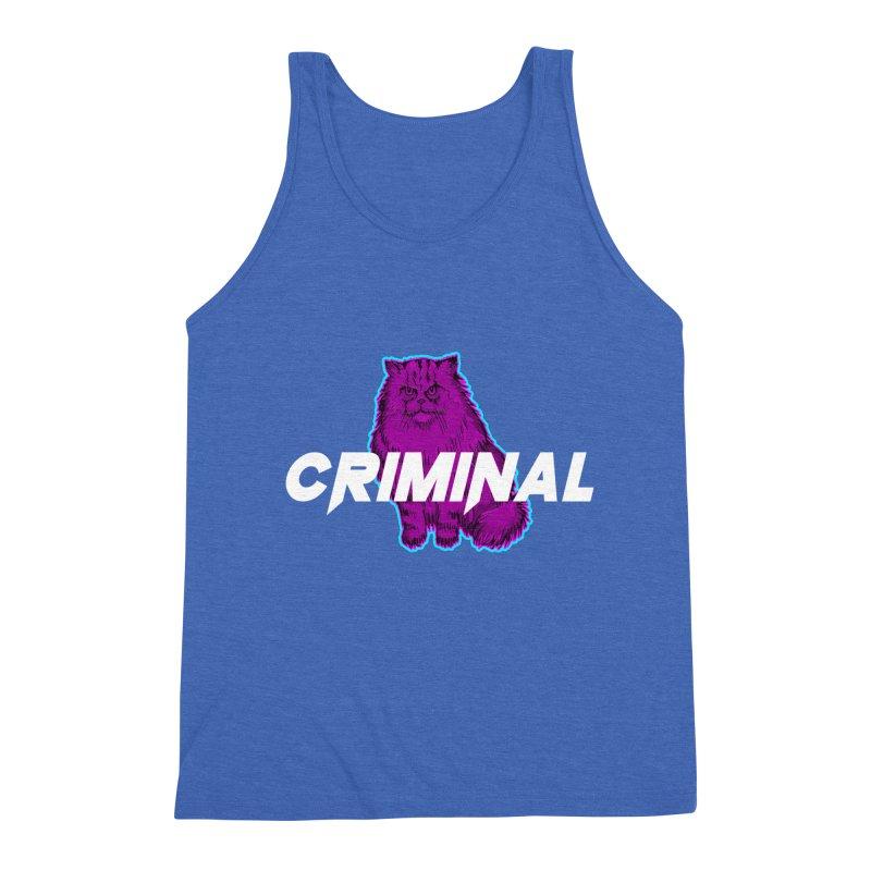 CRIMINAL (KITTY) Men's Triblend Tank by VATTICA | OFFICIAL MERCH