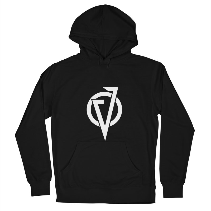 VATTICA LOGO (WHITE V) Men's French Terry Pullover Hoody by VATTICA | OFFICIAL MERCH