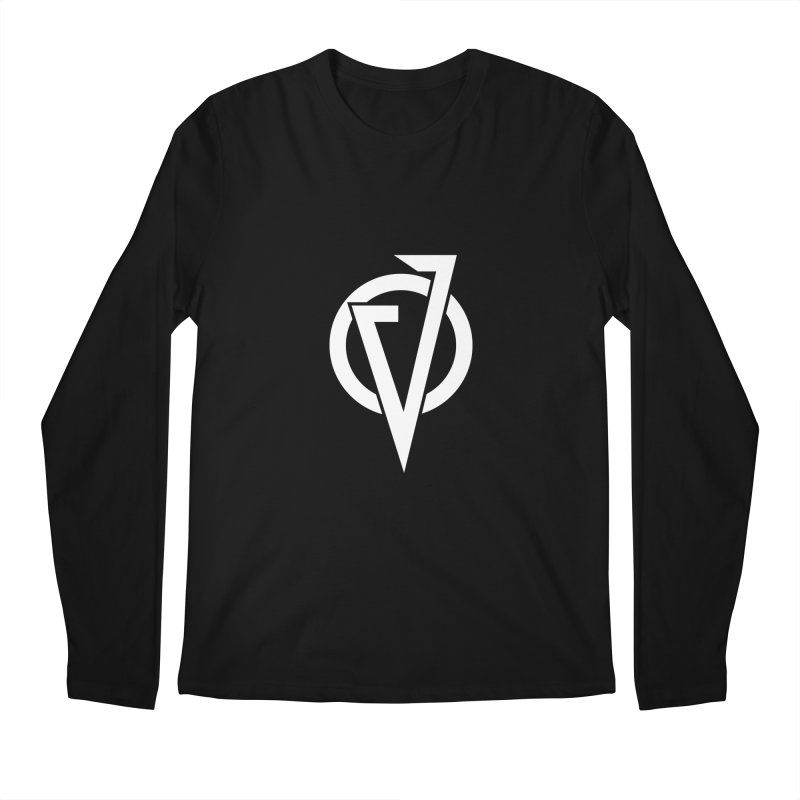 VATTICA LOGO (WHITE V) Men's Longsleeve T-Shirt by VATTICA | OFFICIAL MERCH