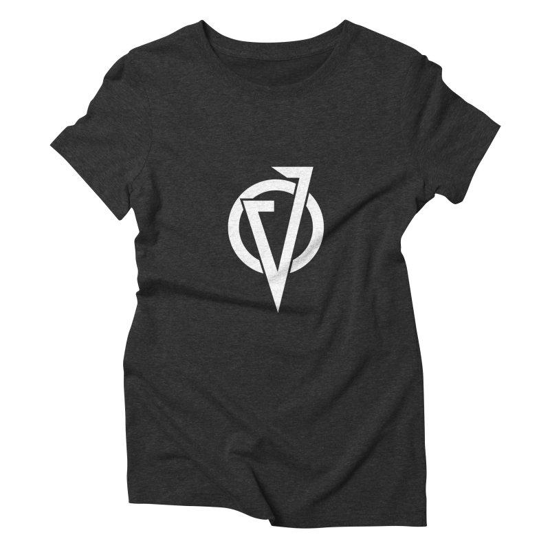VATTICA LOGO (WHITE V) Women's T-Shirt by VATTICA   OFFICIAL MERCH