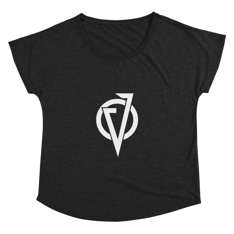 VATTICA LOGO (WHITE V) Women's Dolman Scoop Neck by VATTICA | OFFICIAL MERCH