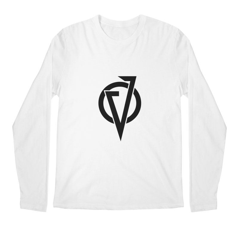VATTICA LOGO (BLACK V) Men's Longsleeve T-Shirt by VATTICA | OFFICIAL MERCH