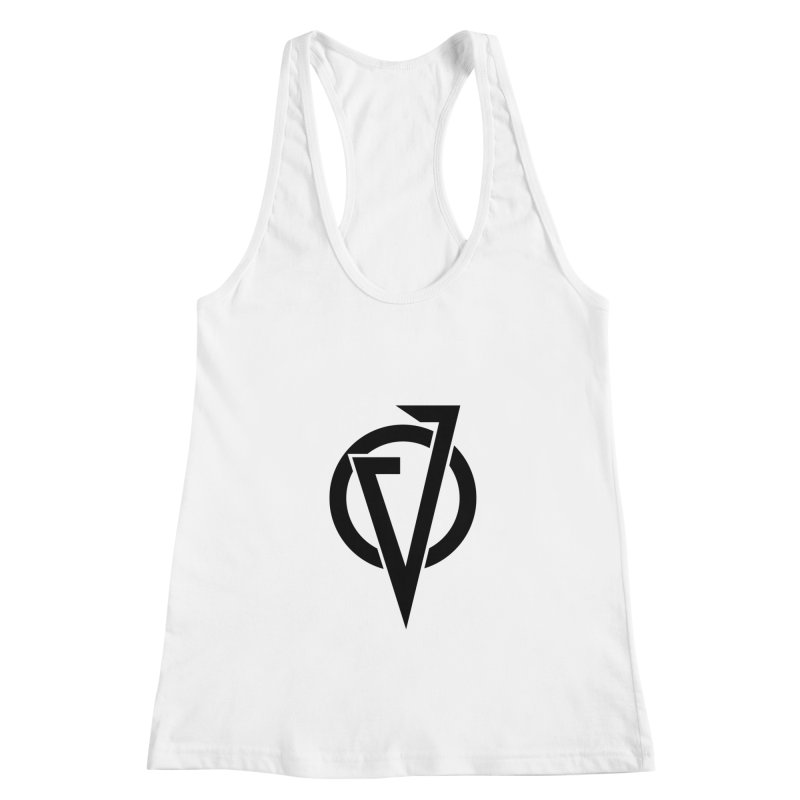 VATTICA LOGO (BLACK V) Women's Racerback Tank by VATTICA | OFFICIAL MERCH