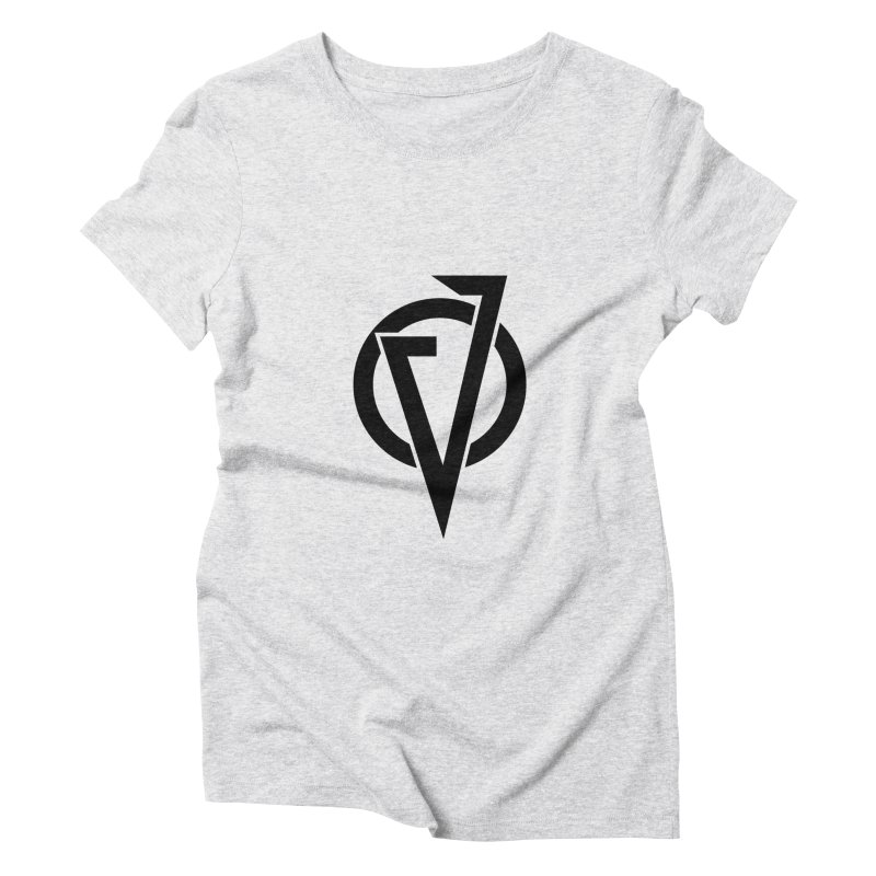 VATTICA LOGO (BLACK V) Women's Triblend T-Shirt by VATTICA | OFFICIAL MERCH