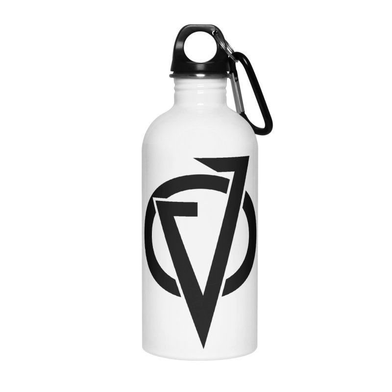 VATTICA LOGO (BLACK V) Accessories Water Bottle by VATTICA | OFFICIAL MERCH
