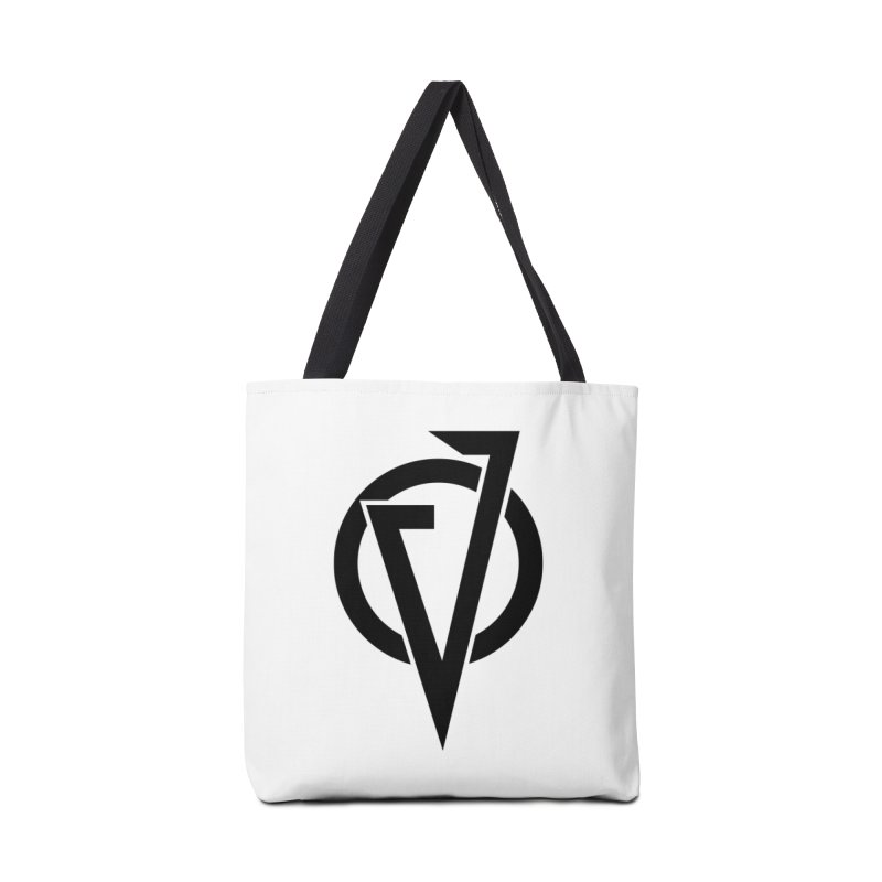 VATTICA LOGO (BLACK V) Accessories Bag by VATTICA | OFFICIAL MERCH