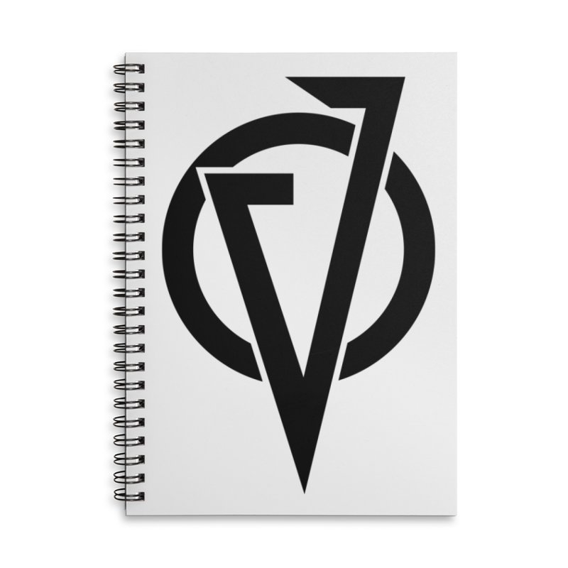 VATTICA LOGO (BLACK V) Accessories Notebook by VATTICA | OFFICIAL MERCH