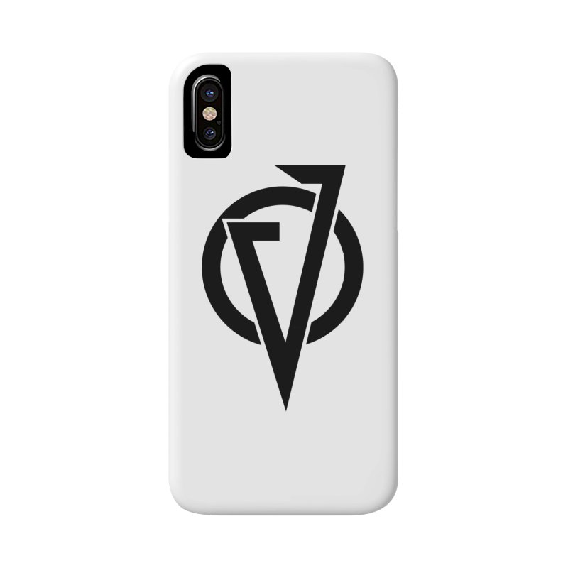 VATTICA LOGO (BLACK V) in iPhone X / XS Phone Case Slim by VATTICA | OFFICIAL MERCH