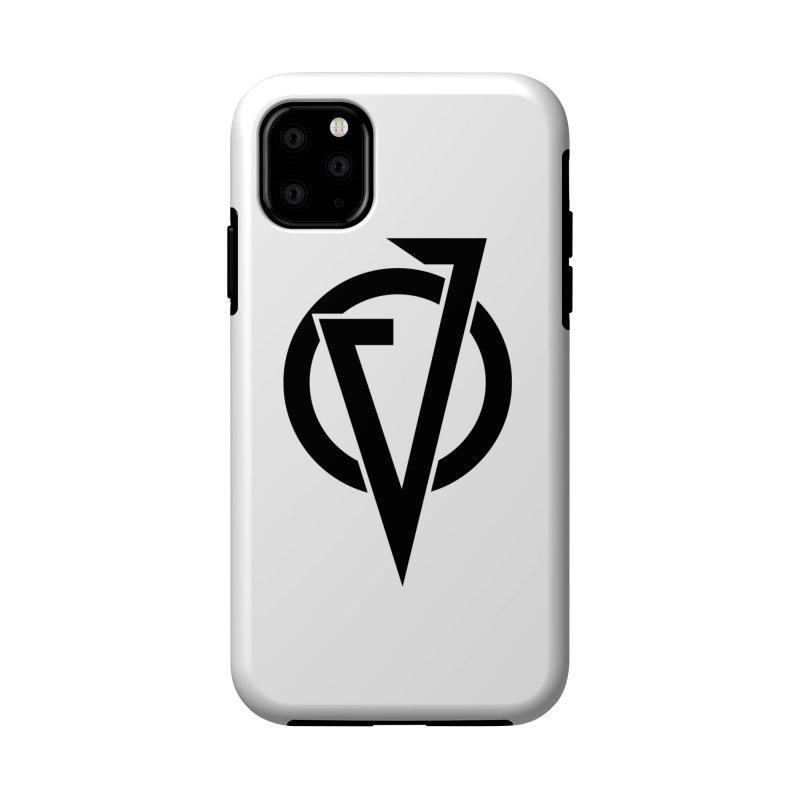 VATTICA LOGO (BLACK V) Accessories Phone Case by VATTICA   OFFICIAL MERCH