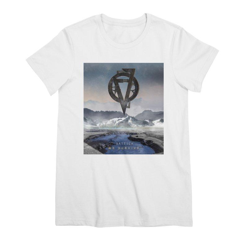 WE SURVIVE (Cover Art) Women's T-Shirt by VATTICA | OFFICIAL MERCH