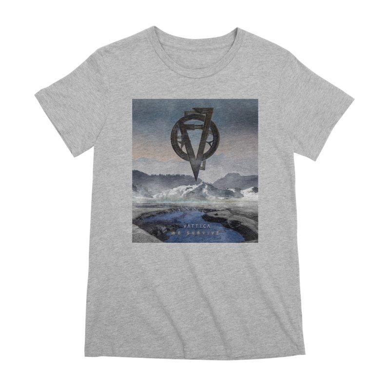 WE SURVIVE (Cover Art) Women's T-Shirt by VATTICA   OFFICIAL MERCH