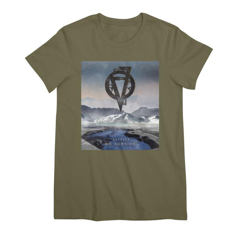 WE SURVIVE (Cover Art) Women's Premium T-Shirt by VATTICA | OFFICIAL MERCH