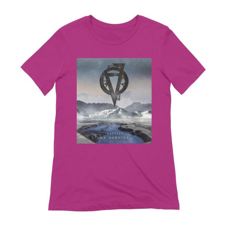 WE SURVIVE (Cover Art) Women's Extra Soft T-Shirt by VATTICA | OFFICIAL MERCH