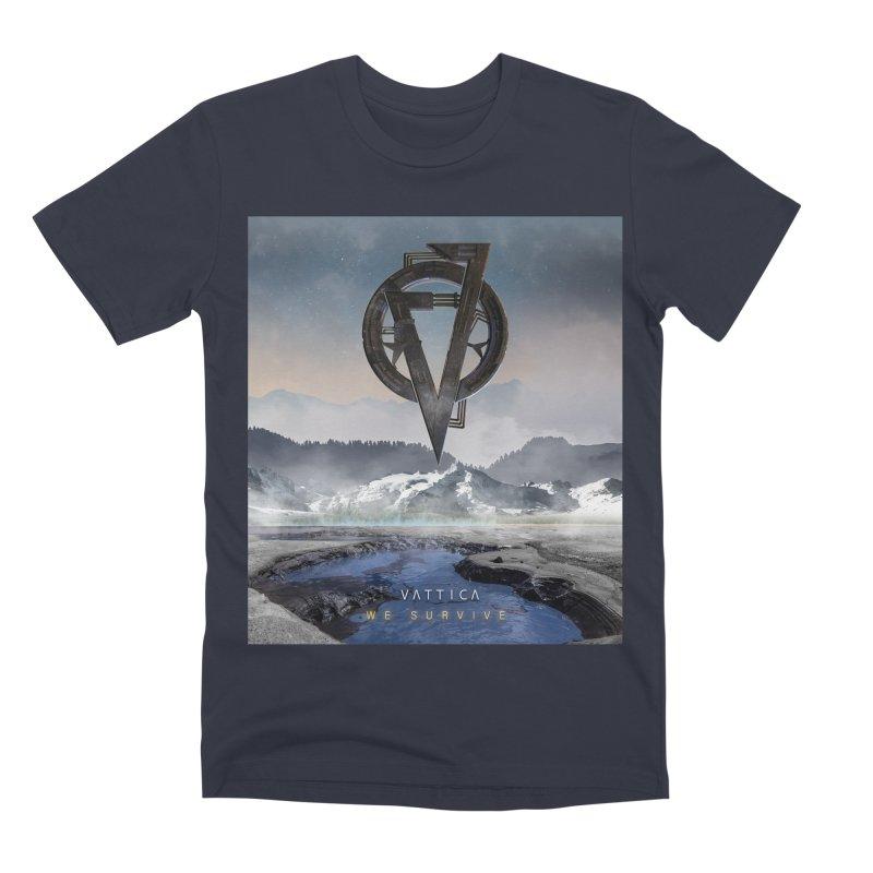 WE SURVIVE (Cover Art) Men's Premium T-Shirt by VATTICA | OFFICIAL MERCH