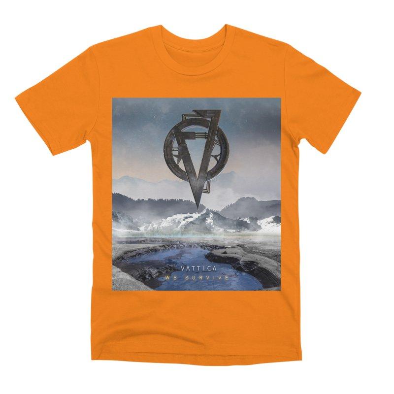 WE SURVIVE (Cover Art) Men's T-Shirt by VATTICA   OFFICIAL MERCH