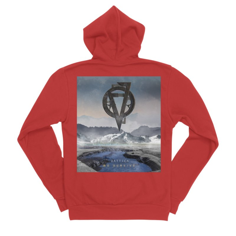 WE SURVIVE (Cover Art) Women's Zip-Up Hoody by VATTICA | OFFICIAL MERCH