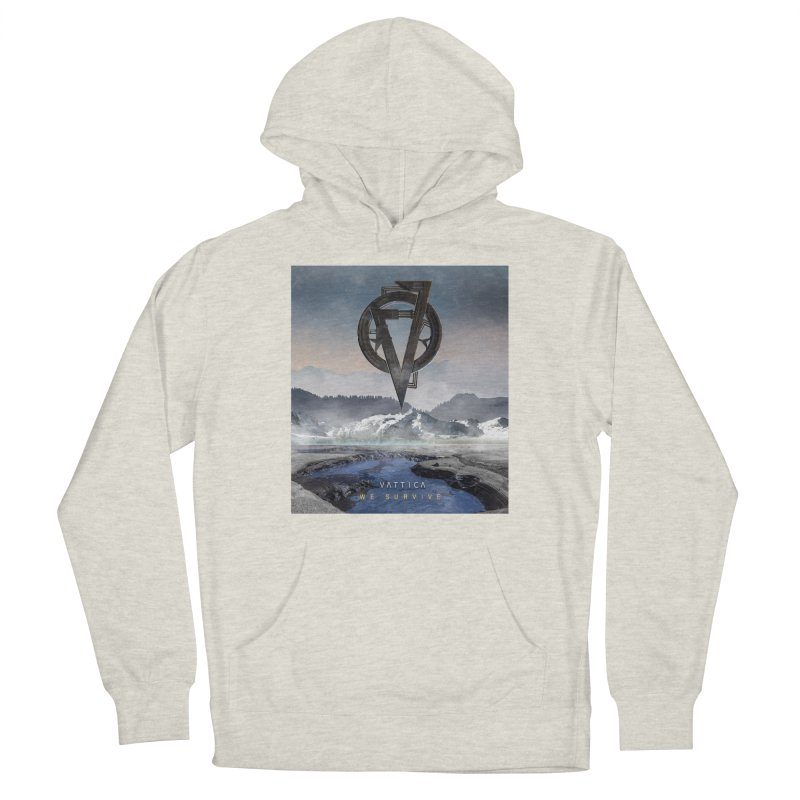 WE SURVIVE (Cover Art) Men's French Terry Pullover Hoody by VATTICA | OFFICIAL MERCH