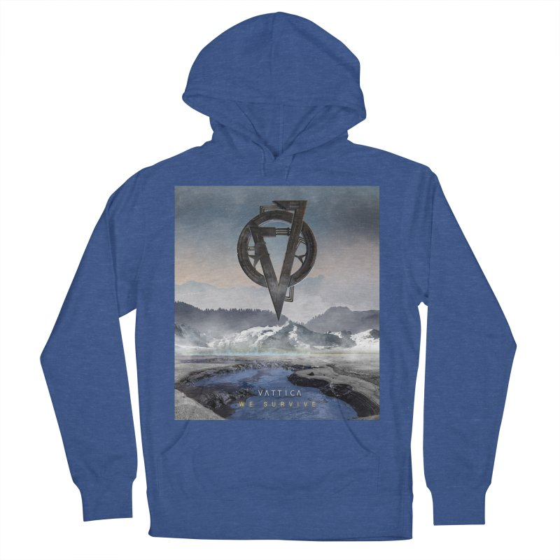 WE SURVIVE (Cover Art) Women's French Terry Pullover Hoody by VATTICA   OFFICIAL MERCH