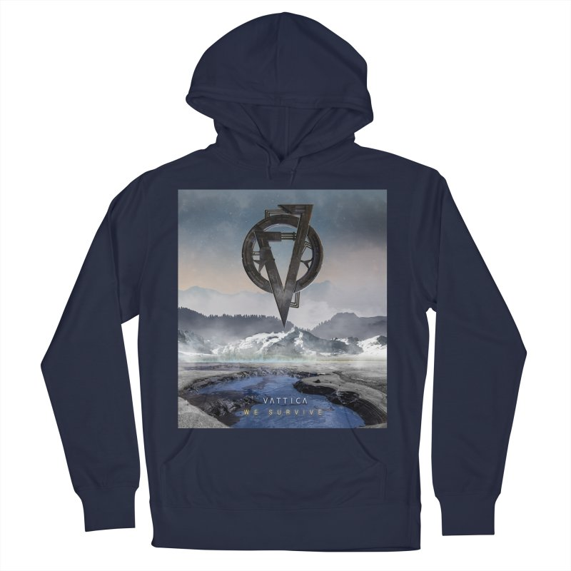 WE SURVIVE (Cover Art) Women's French Terry Pullover Hoody by VATTICA | OFFICIAL MERCH