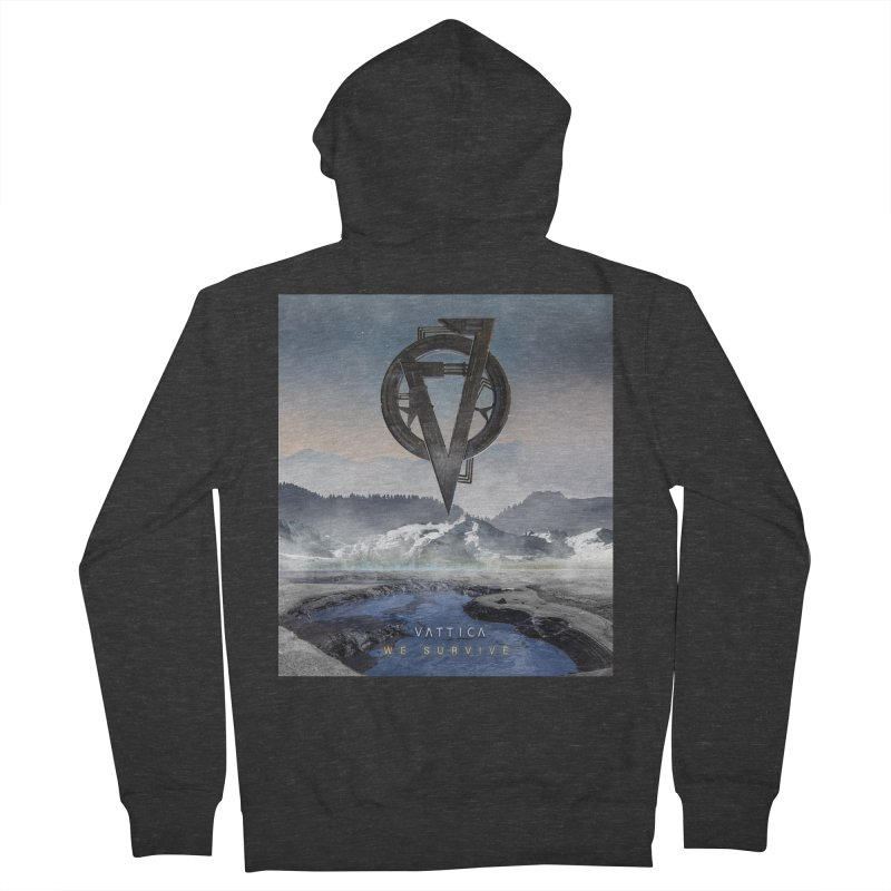 WE SURVIVE (Cover Art) Women's French Terry Zip-Up Hoody by VATTICA | OFFICIAL MERCH