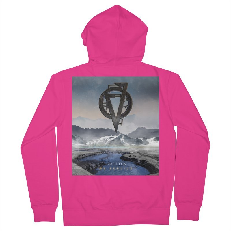 WE SURVIVE (Cover Art) Men's French Terry Zip-Up Hoody by VATTICA | OFFICIAL MERCH