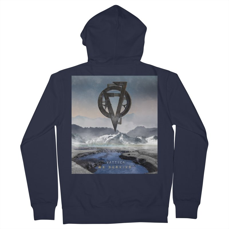 WE SURVIVE (Cover Art) Men's Zip-Up Hoody by VATTICA | OFFICIAL MERCH
