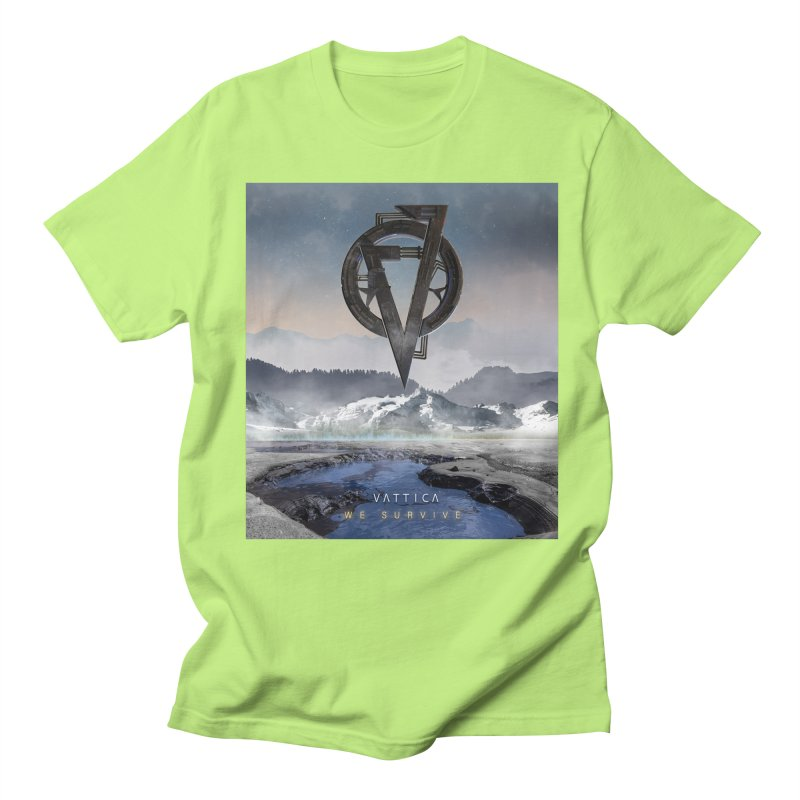 WE SURVIVE (Cover Art) Men's Regular T-Shirt by VATTICA | OFFICIAL MERCH