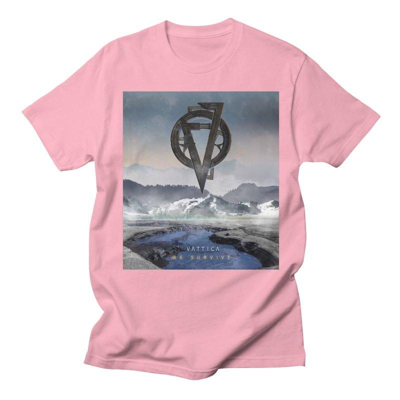 WE SURVIVE (Cover Art) Men's Regular T-Shirt by VATTICA | OFFICIAL MERCH
