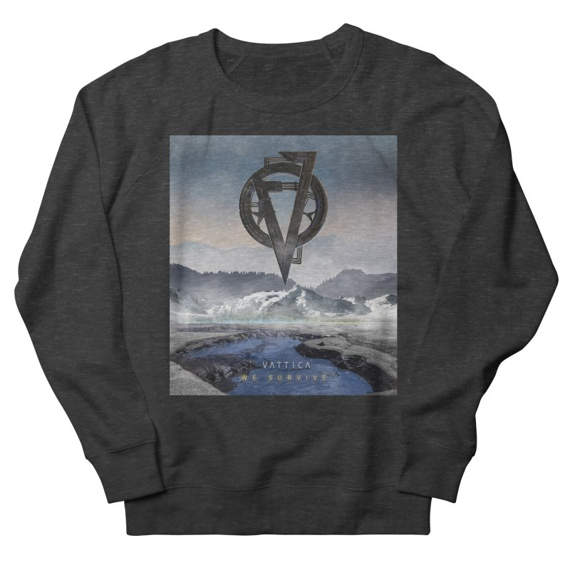 WE SURVIVE (Cover Art) Women's French Terry Sweatshirt by VATTICA | OFFICIAL MERCH