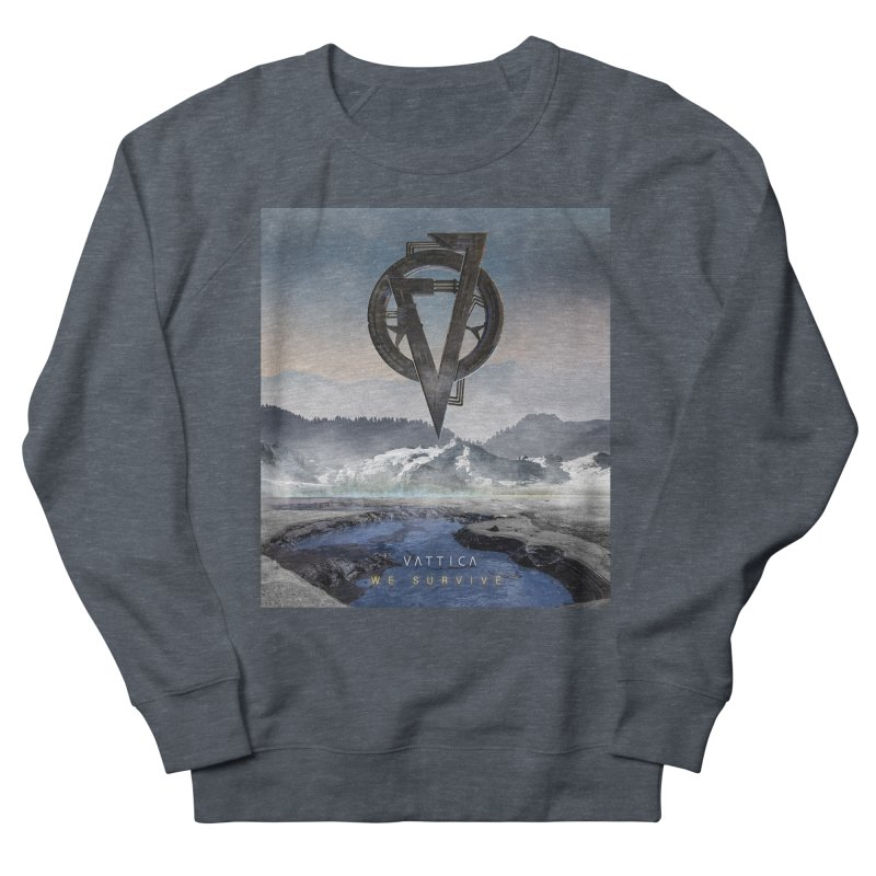 WE SURVIVE (Cover Art) Men's French Terry Sweatshirt by VATTICA | OFFICIAL MERCH