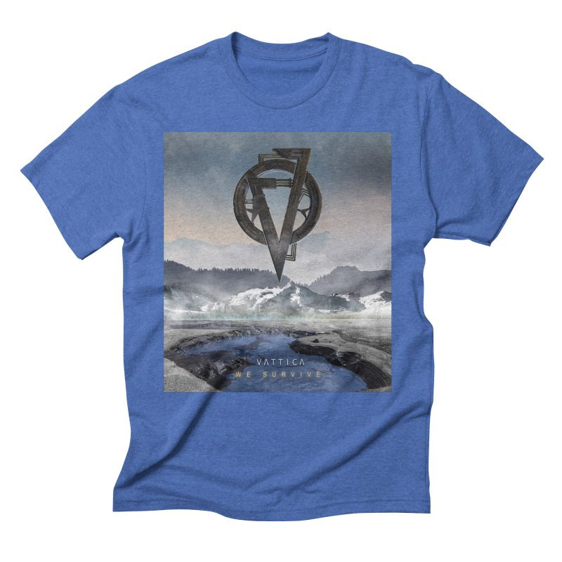 WE SURVIVE (Cover Art) Men's Triblend T-Shirt by VATTICA | OFFICIAL MERCH