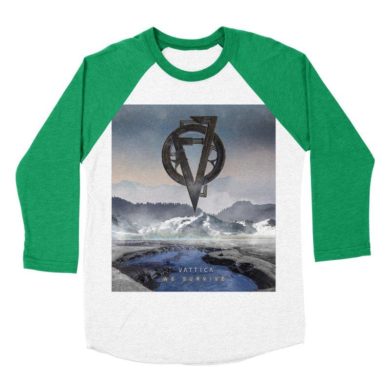WE SURVIVE (Cover Art) Women's Baseball Triblend Longsleeve T-Shirt by VATTICA   OFFICIAL MERCH