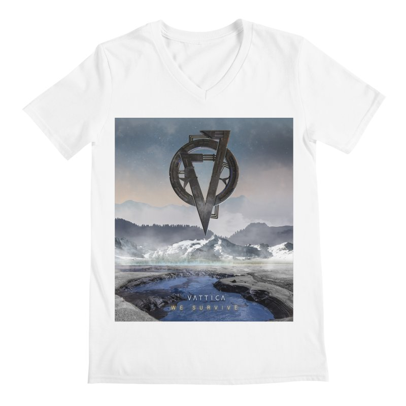 WE SURVIVE (Cover Art) Men's V-Neck by VATTICA | OFFICIAL MERCH