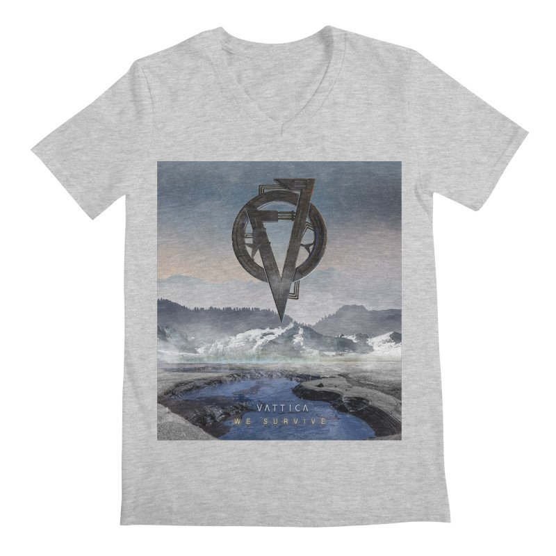 WE SURVIVE (Cover Art) Men's Regular V-Neck by VATTICA | OFFICIAL MERCH