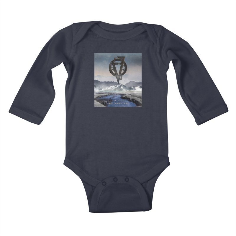 WE SURVIVE (Cover Art) Kids Baby Longsleeve Bodysuit by VATTICA | OFFICIAL MERCH