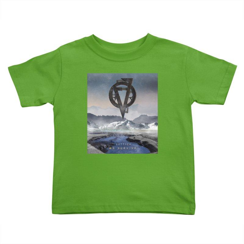 WE SURVIVE (Cover Art) Kids Toddler T-Shirt by VATTICA | OFFICIAL MERCH