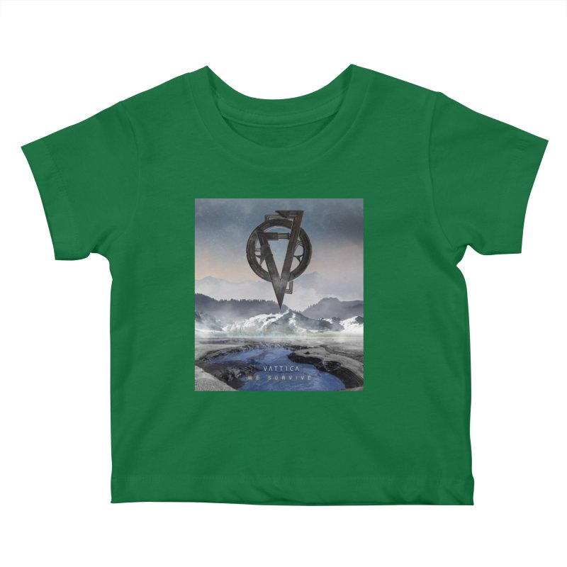 WE SURVIVE (Cover Art) Kids Baby T-Shirt by VATTICA | OFFICIAL MERCH
