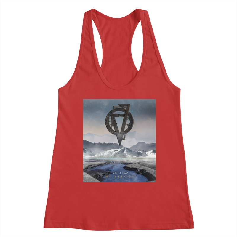 WE SURVIVE (Cover Art) Women's Racerback Tank by VATTICA | OFFICIAL MERCH