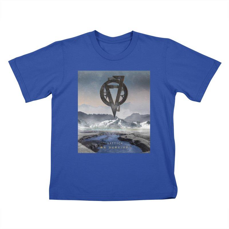 WE SURVIVE (Cover Art) Kids T-Shirt by VATTICA | OFFICIAL MERCH