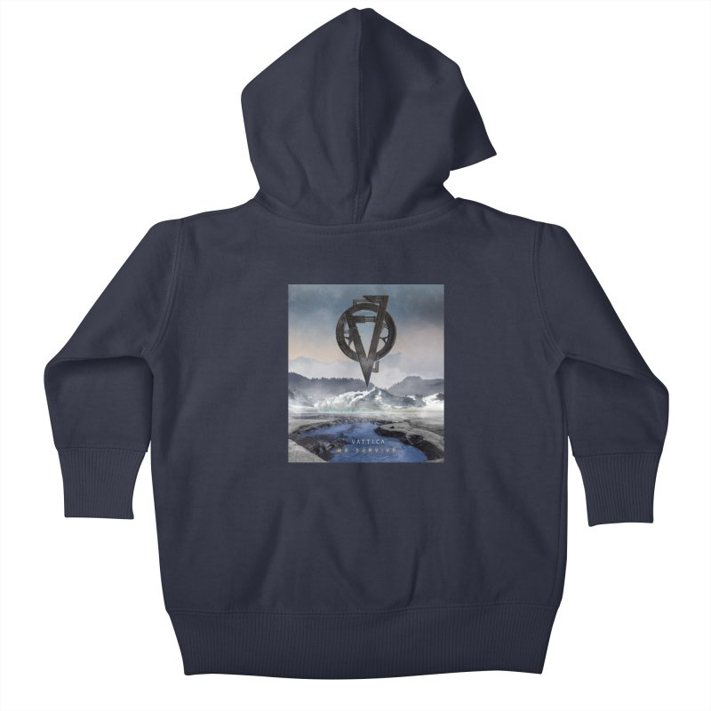 WE SURVIVE (Cover Art) Kids Baby Zip-Up Hoody by VATTICA | OFFICIAL MERCH